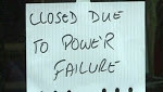 Business loses power