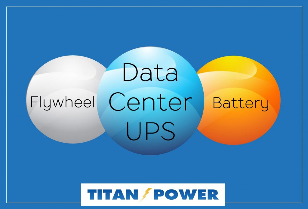 flywheel vs. Battery UPS image