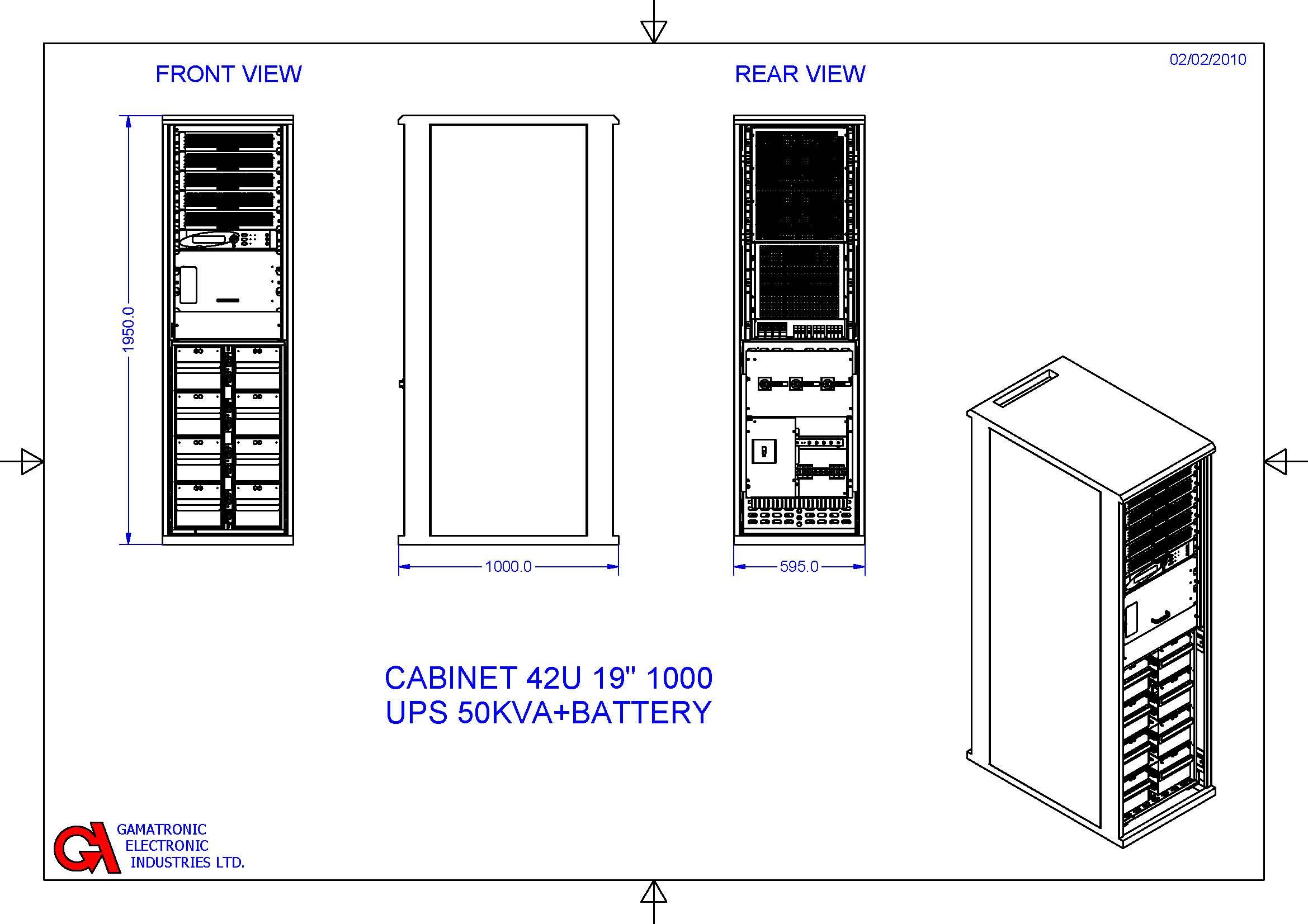 power  rack mount series