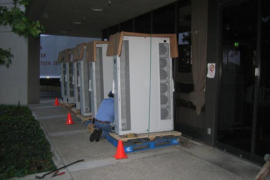 Stanford Linear Accelerator Center (SLAC) Liquid Cooling Package (LCP) Installation